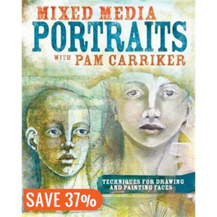 Contributing Artist in Pam Carriker's Mixed Media Portraits