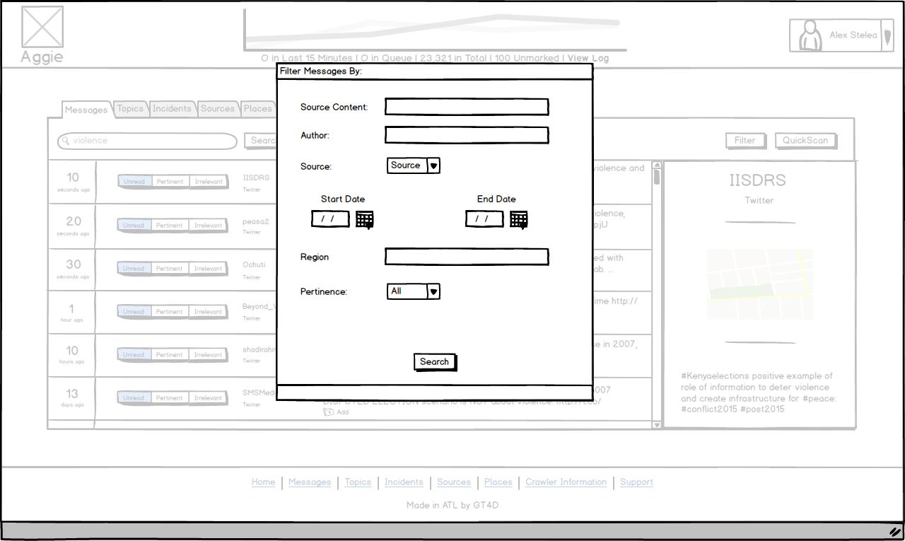 illustrating modal windows