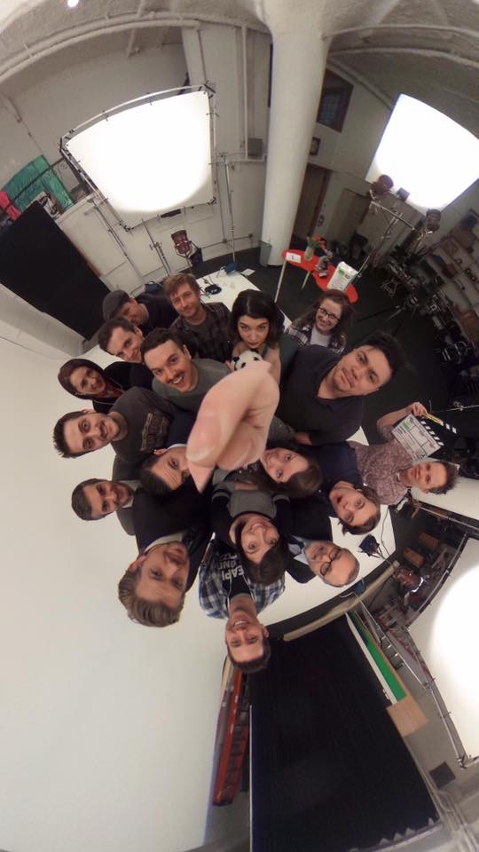 The whole team on the Bim Bam Boo shoot! How cool is this 360 photo courtesy of Kari Jo Skogquist?!??