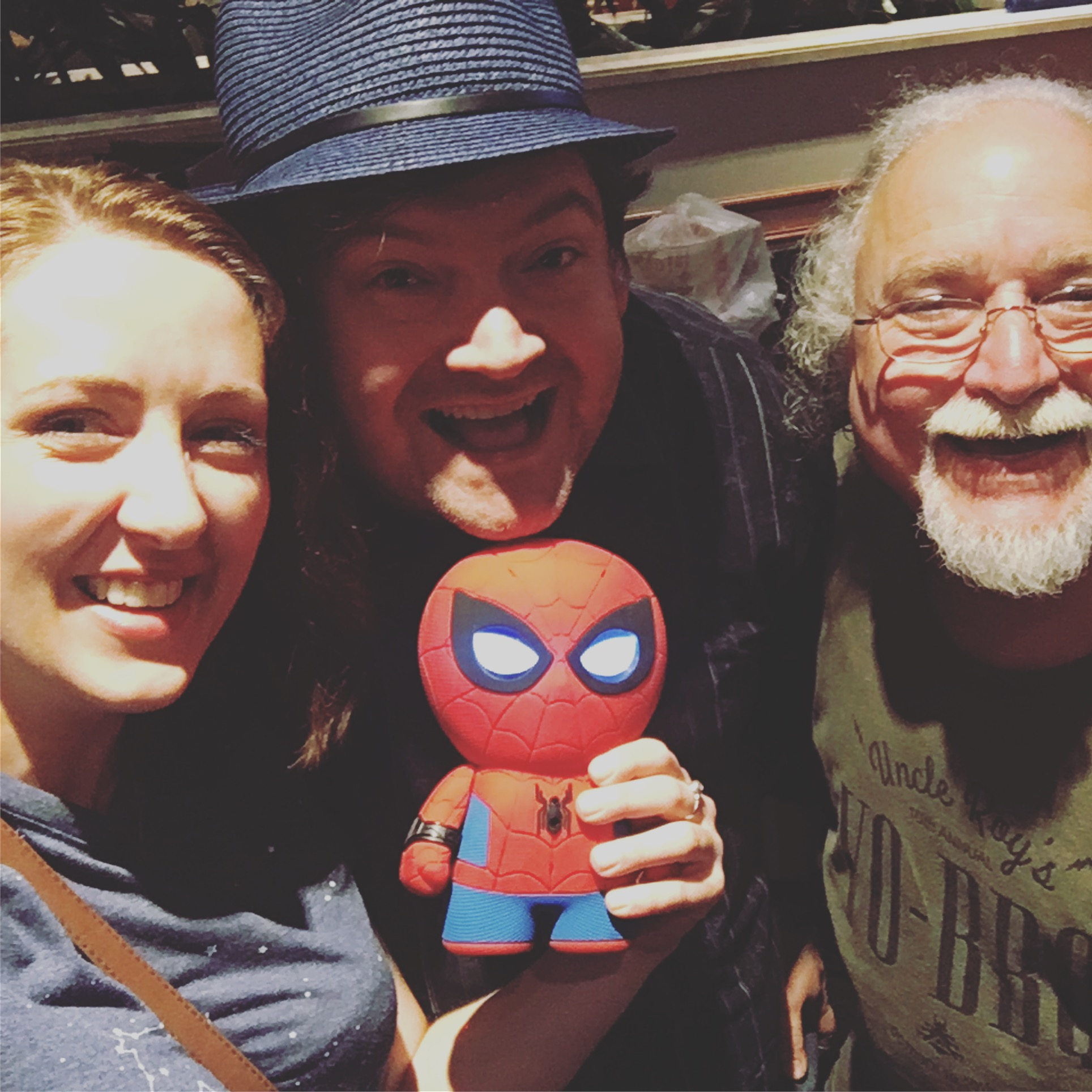 Me, Andrew Bates, Spidey, and Uncle Roy...conference stragglers, enjoying one last hurrah at the hotel bar...