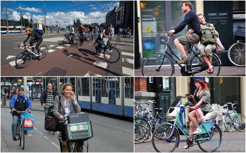 Source: http://www.amusingplanet.com/2013/01/amsterdam-city-of-bicycles.html, Photo Credits: Photo credits:  Sergey Dolya  ,  Petr_Kuznets  ,  Zyalt