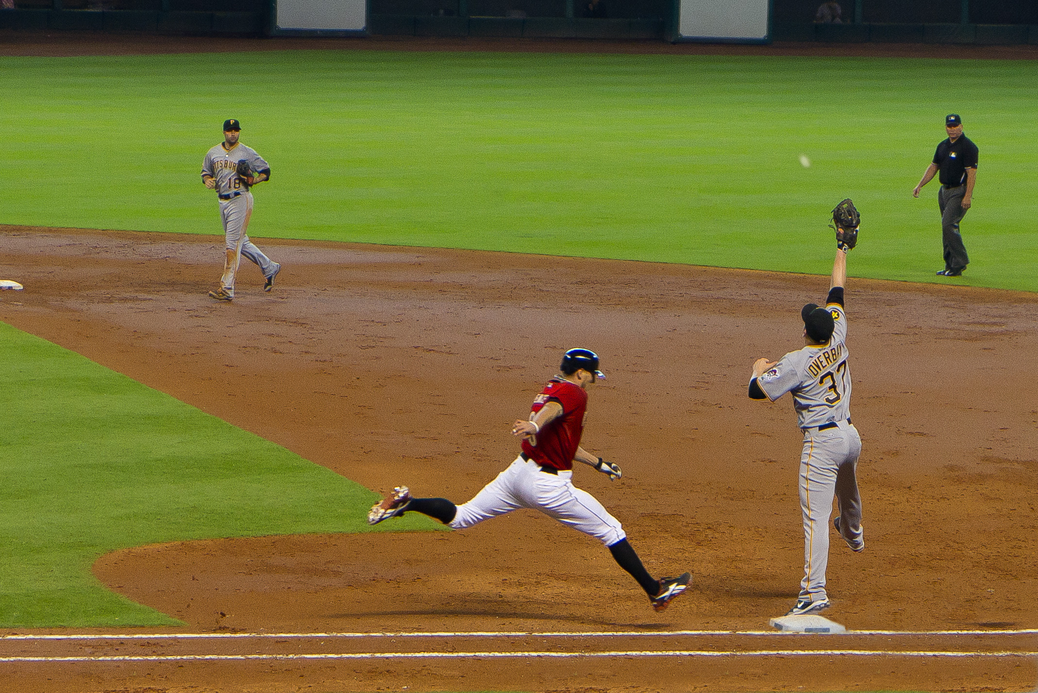 Lyle Overbay integrates multiple sources of sensory information. Source: Graham Richter, Wikimedia.