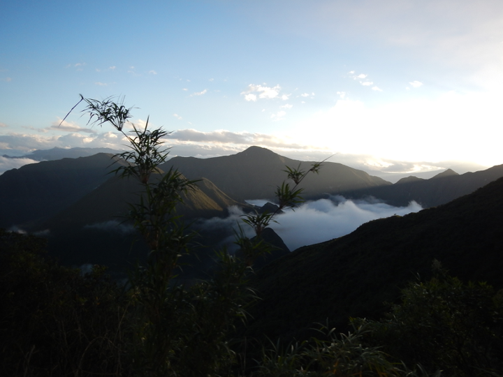 A volcano that is home to many Central American wrens that the author visited in a quest to find and record these beautiful, elusive birds.