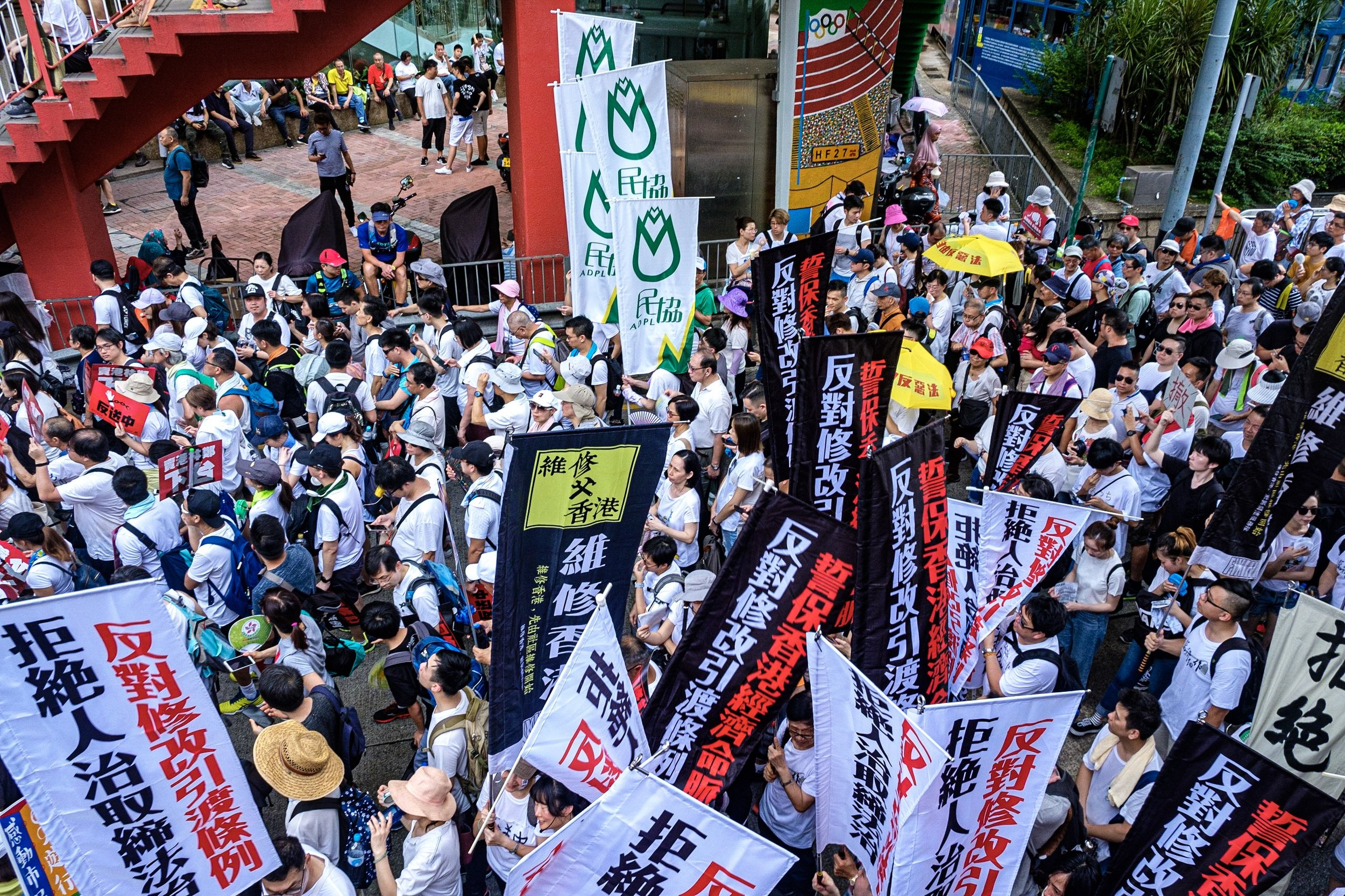 One-million strong anti-extradition bill march - June 9, 2010