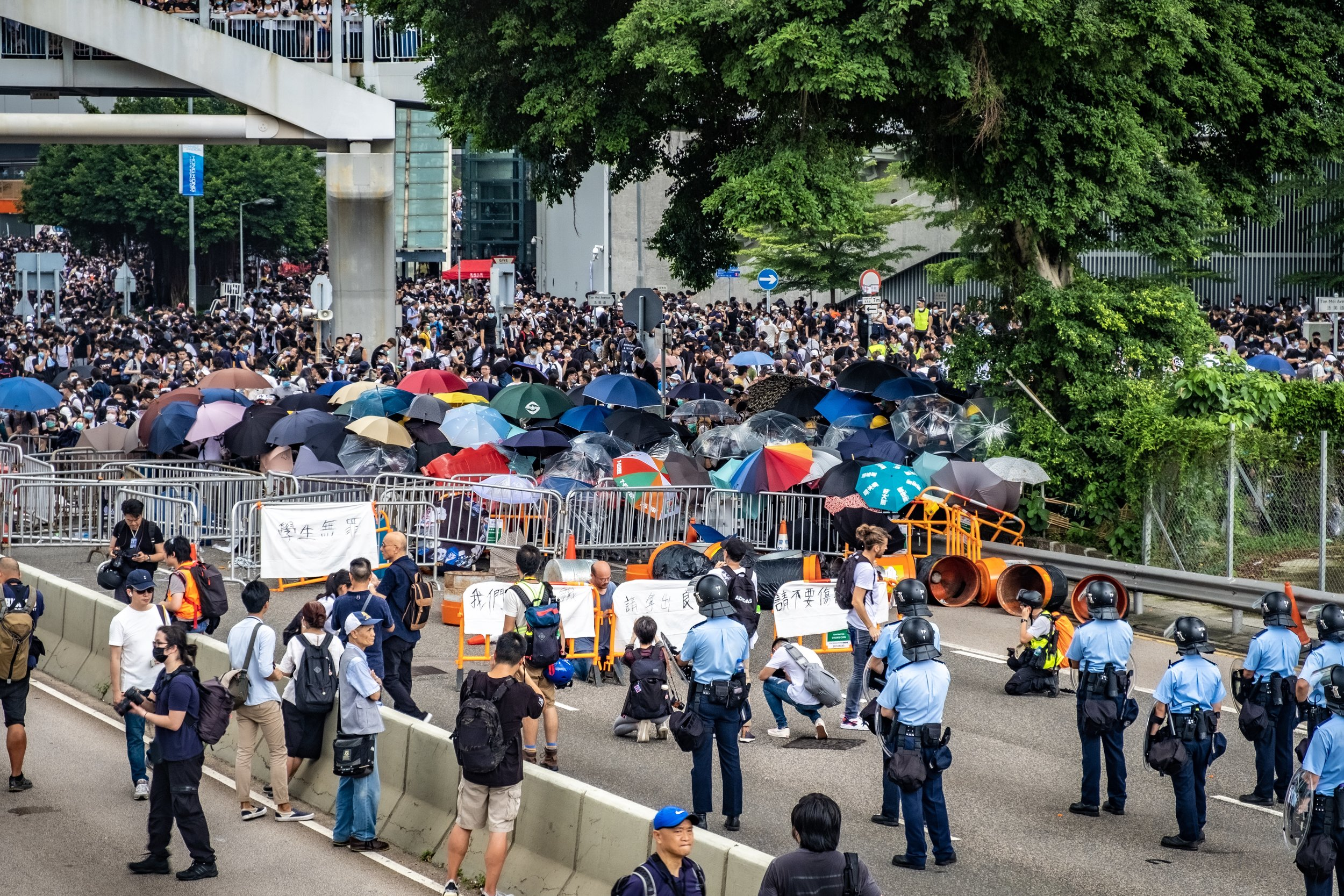 Occupation of LegCo - June 12, 2019