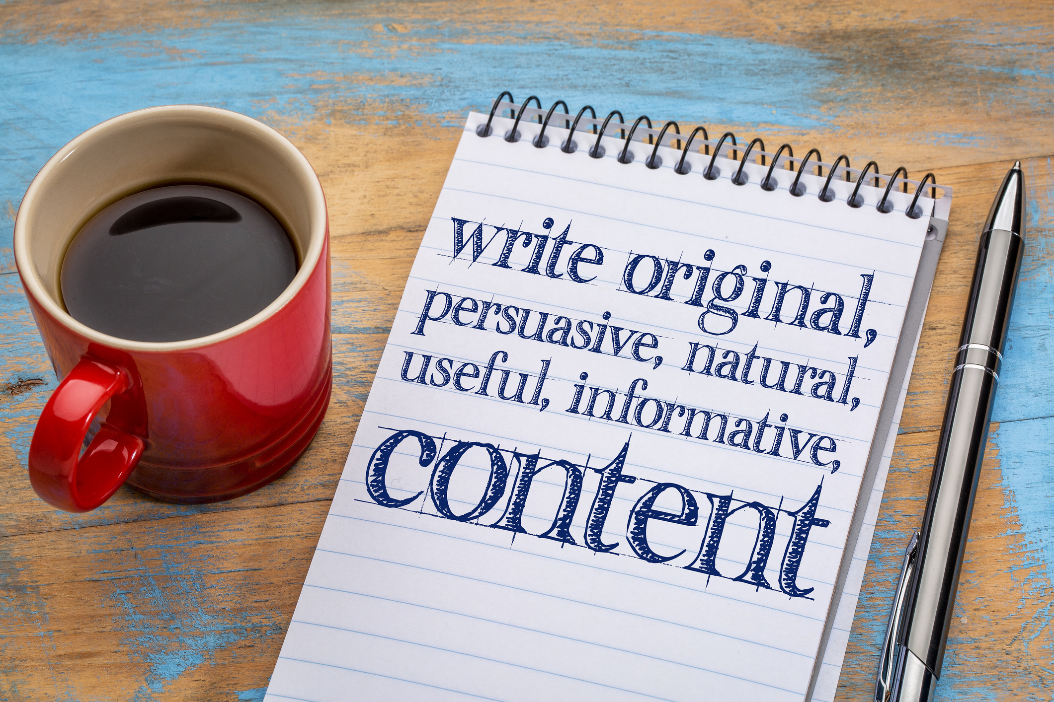 Content Management Competence - Relevant, researched content for your business...