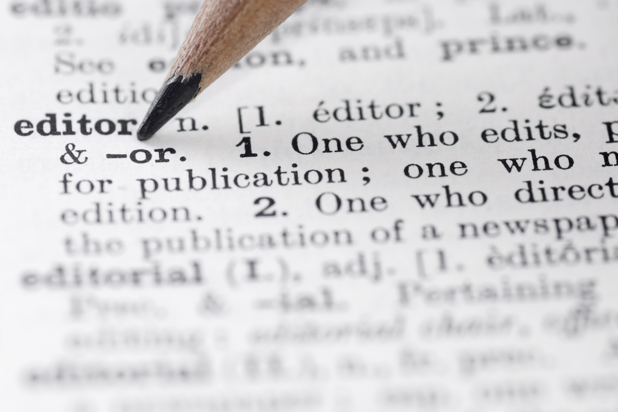 Clarity through exhaustive editing - An accurate examination of what is required...