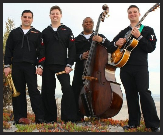 """The original Westside Inflection, then named """"Seabreeze"""". From left to right: Jason Hanna, Anders Larsson, Antar Martin, and Colin Greggs. Photo by Bill Chizek."""