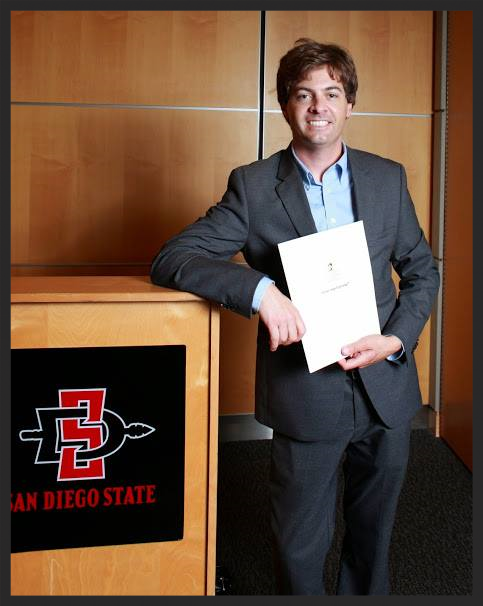 Two years and two letters to Congress later, here I am after receiving my master's degree and professional writing certificate from San Diego State University.