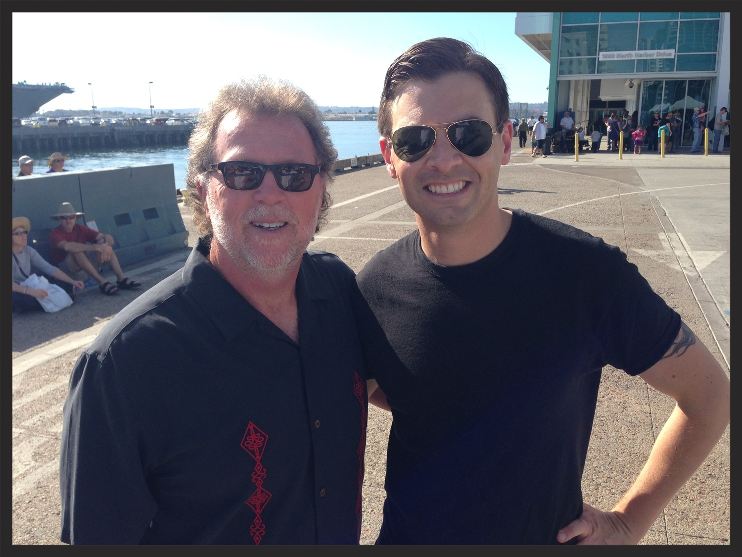 Jim Gibson and Anders Larsson. San Diego, CA 2014