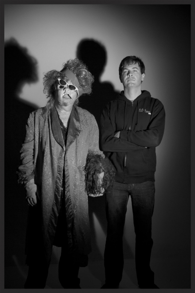 Gary Wilson and Anders Larsson. Photo by Ashley Montoya, 2014.