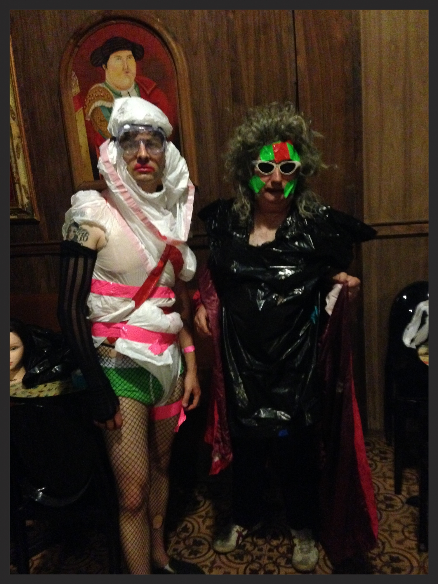 Me backstage with Gary Wilson just before hitting the stage for our set at Los Globos