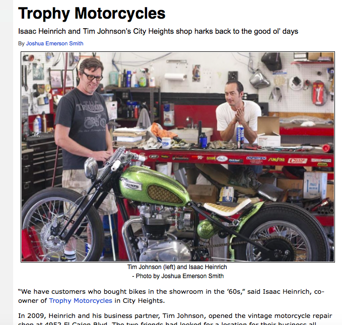 Click the above image to see the complete writeup on Trophy Motorcycles in Citybeat