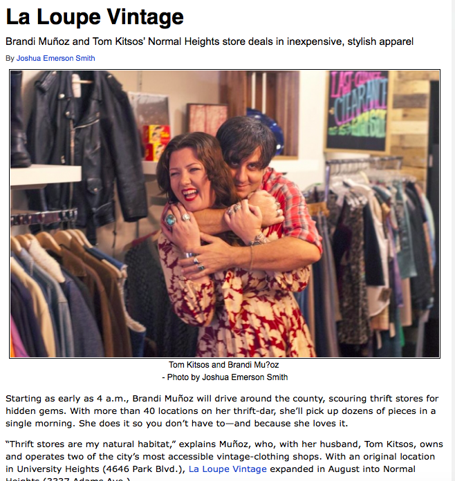 Click the above image to see the complete writeup on La Loupe Vintage in Citybeat
