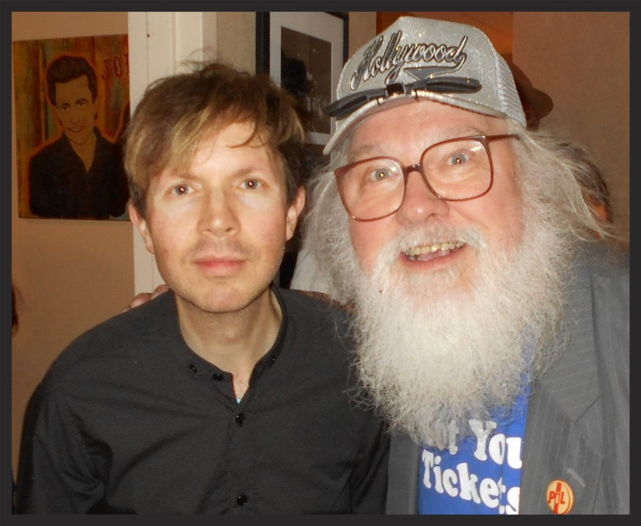 Beck and Moore. Photo by Roger Ferguson