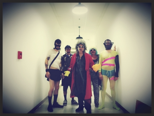 Gary Wilson and the Blind Dates (Joe Guevara, Charlie Bottino, Ian McGehee, and Anders Larsson)