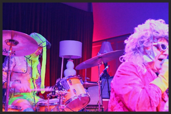 Gary Wilson and the Blind Dates at the Irenic in San Diego, CA. Photo by Nick Lane, 2015