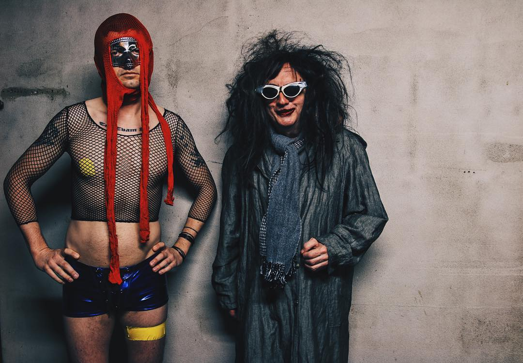 Gary Wilson and Anders Larsson in 2016. Photo: Nick Lane