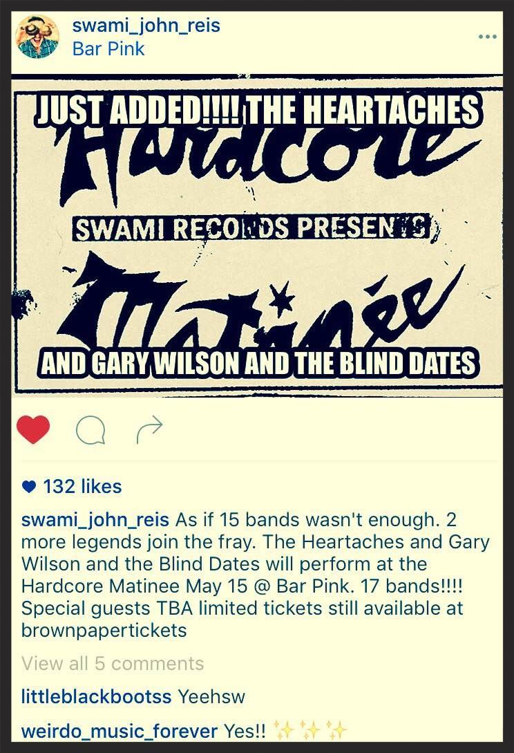 Swami John Reis announced the boys' appearance via Instagram