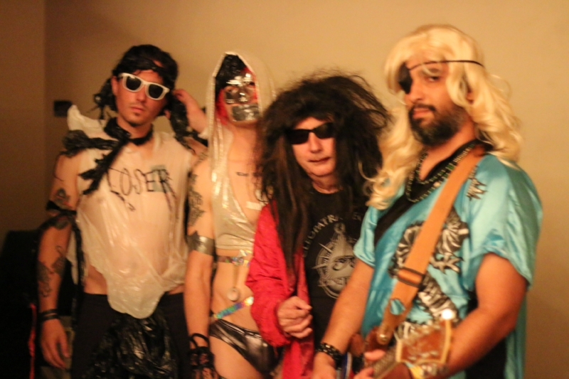 Gary Wilson and the Blind Dates, L-R: Joe Guevara, Anders Larsson, Gary, Dean Reis. Photo: Cameron Murray, 2016.