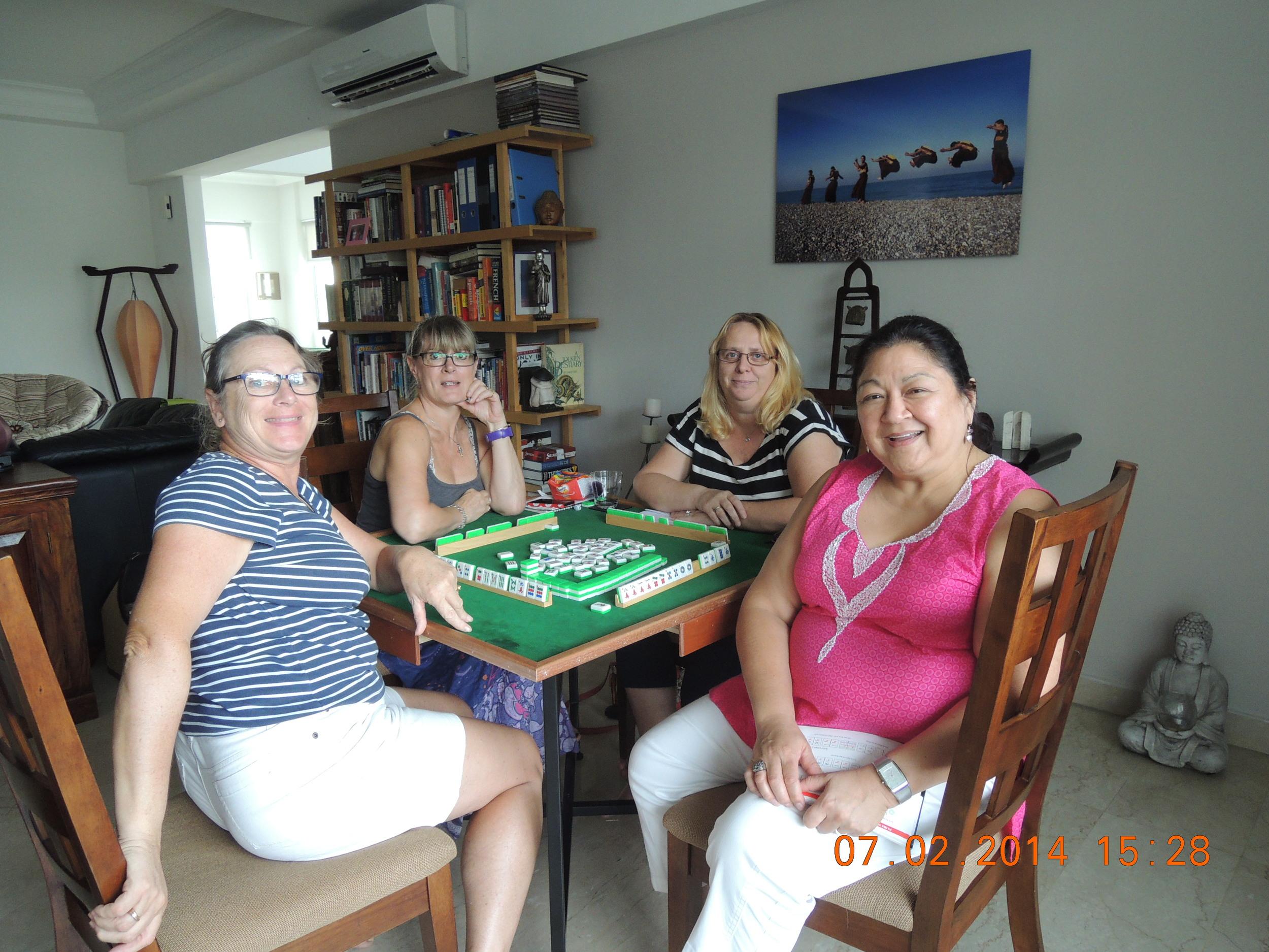 Isa, Jane, Linda, and Helen--Thanks, Jane, for hosting