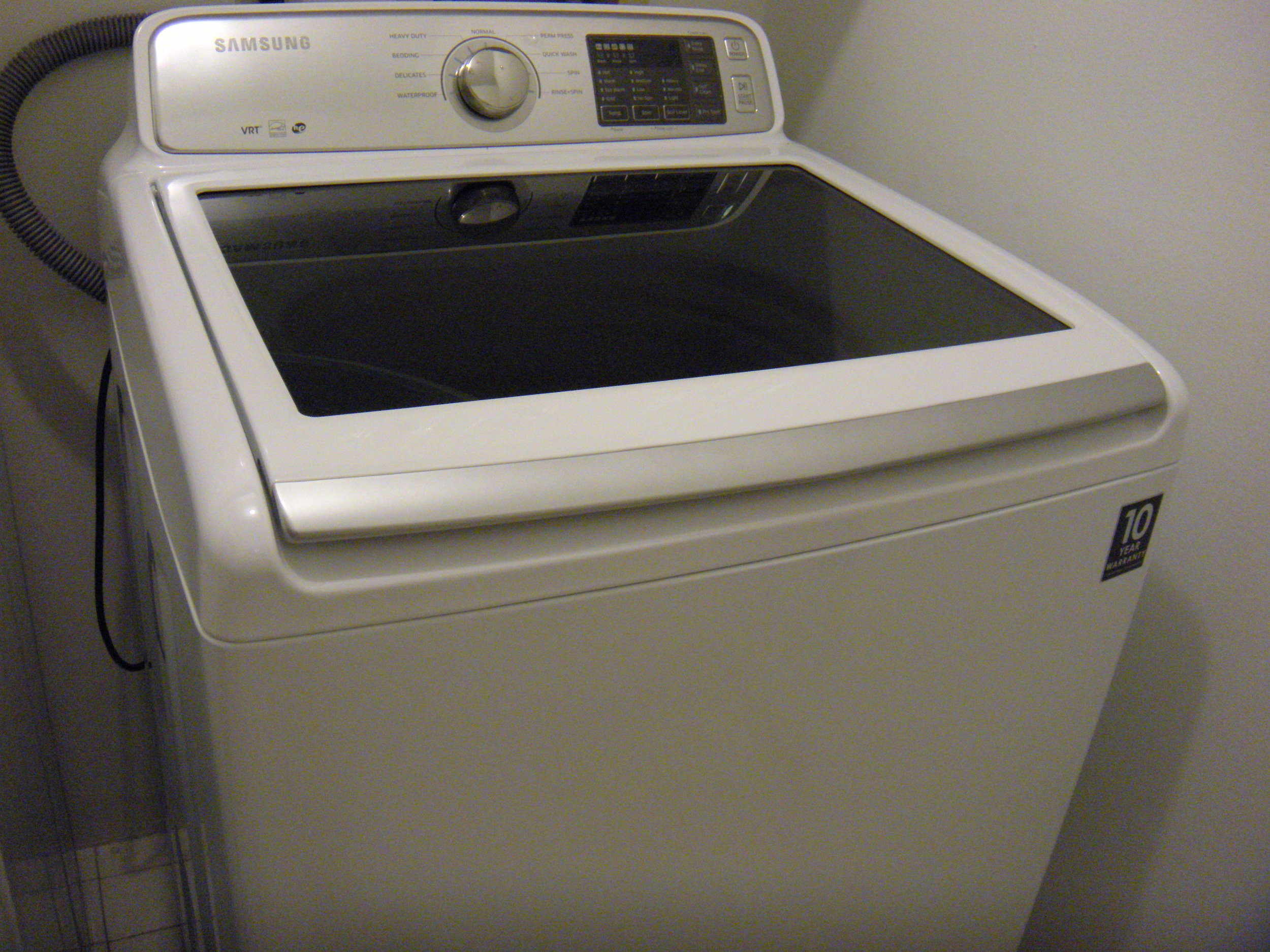 Do you like the new washer?