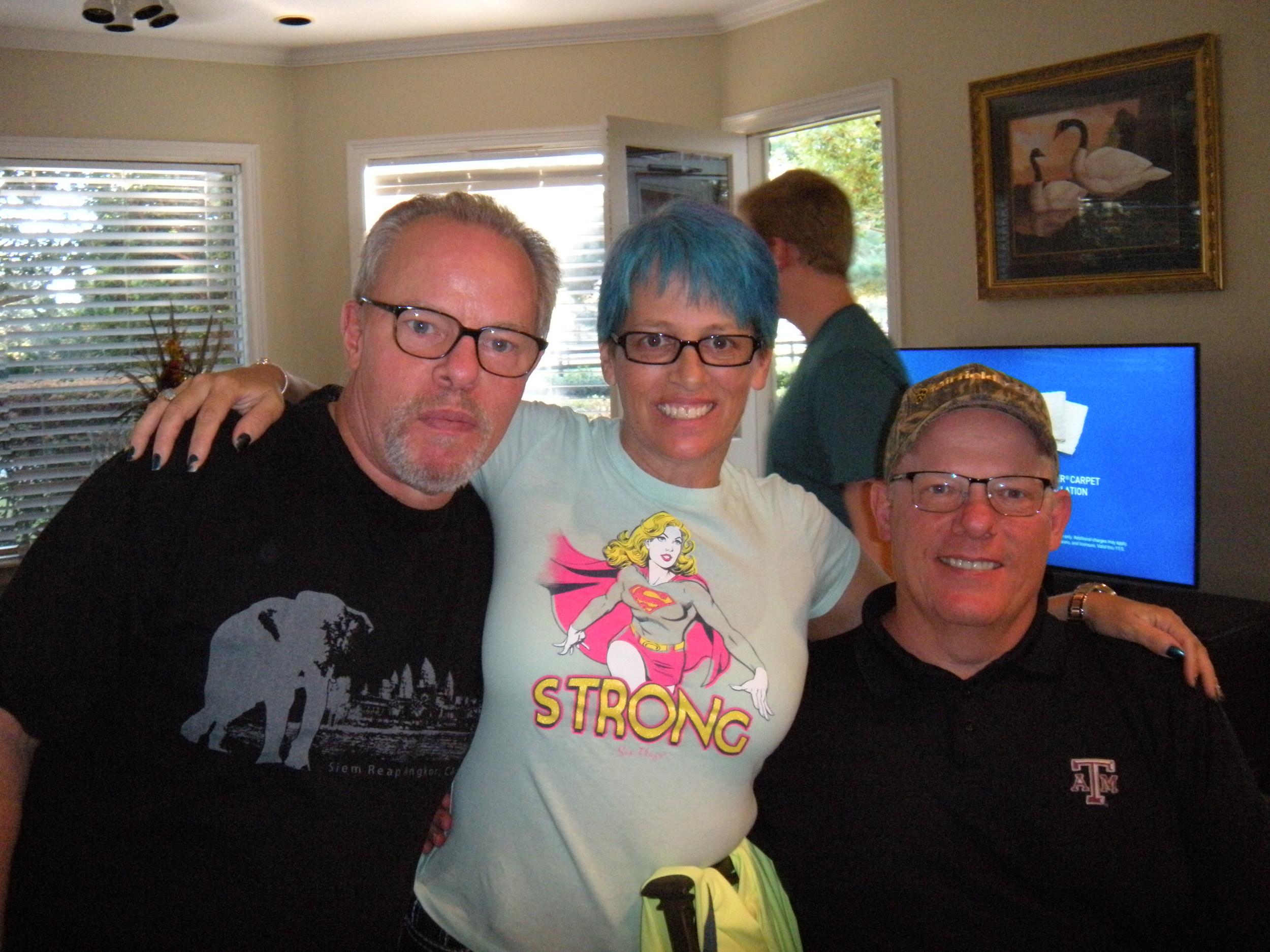 David, Keri, and Paul