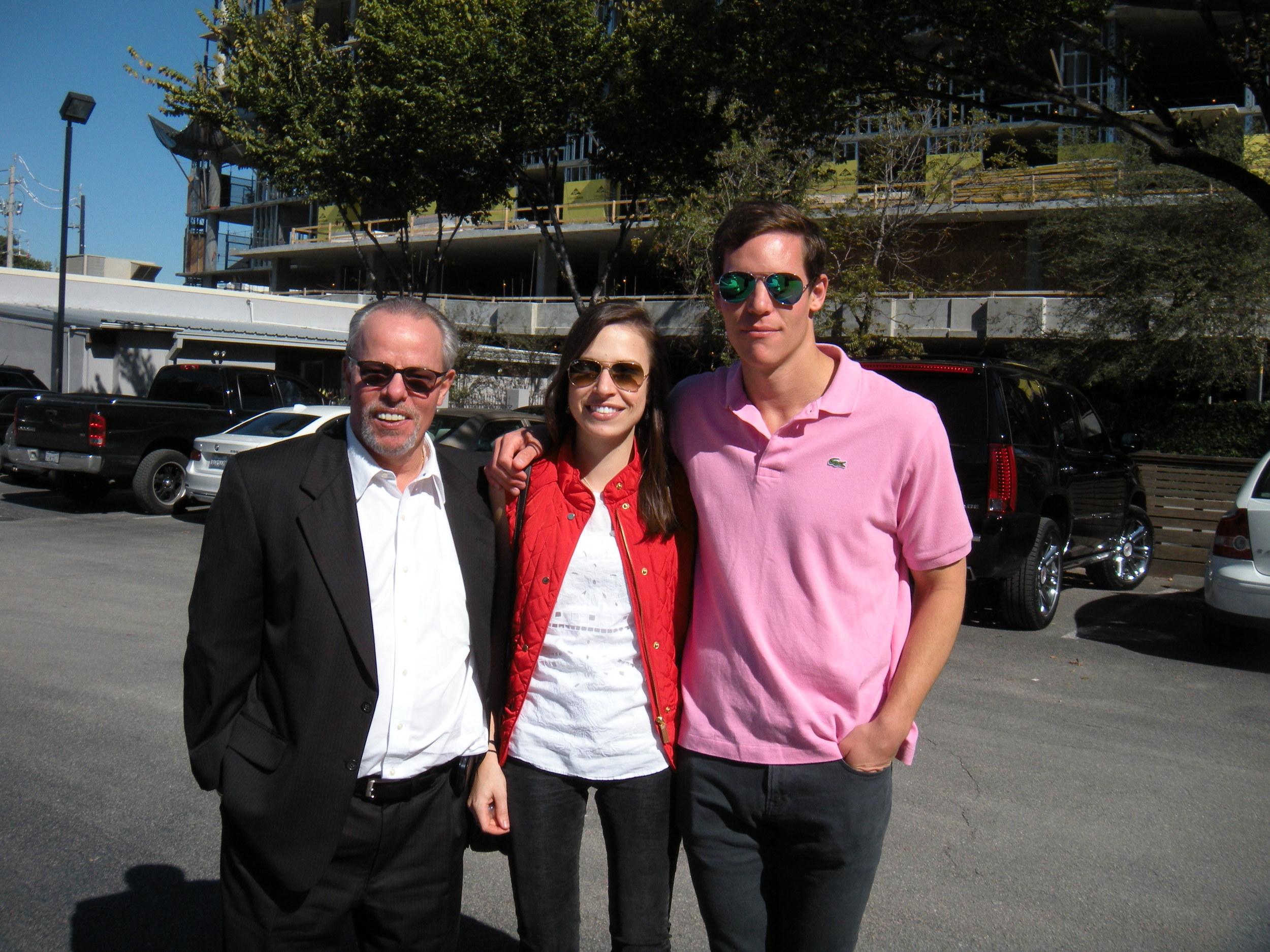 David, Anna, and Curtis.