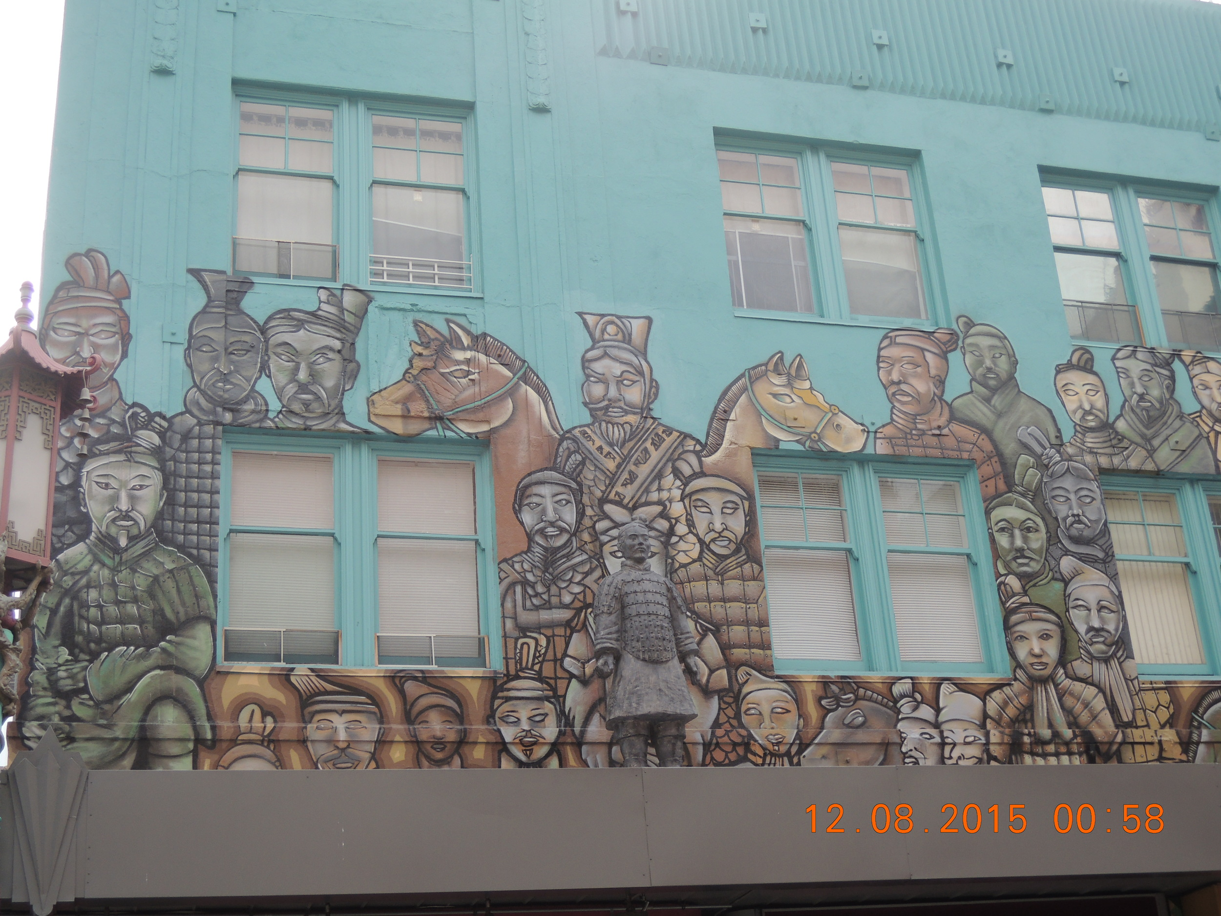 Building art in Chinatown