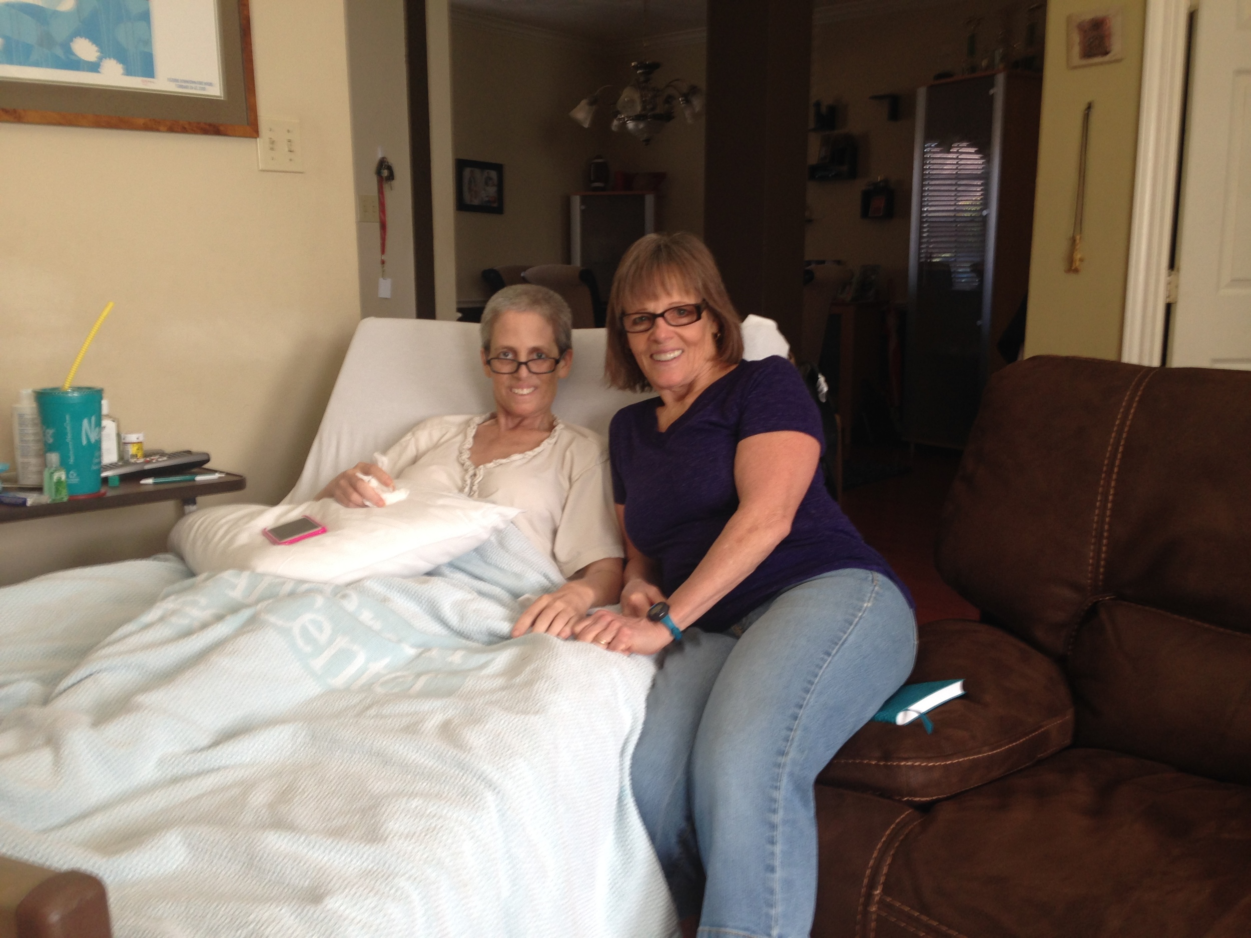 Keri, with her mother, Leanne. You can tell what a sweetheart Keri is.