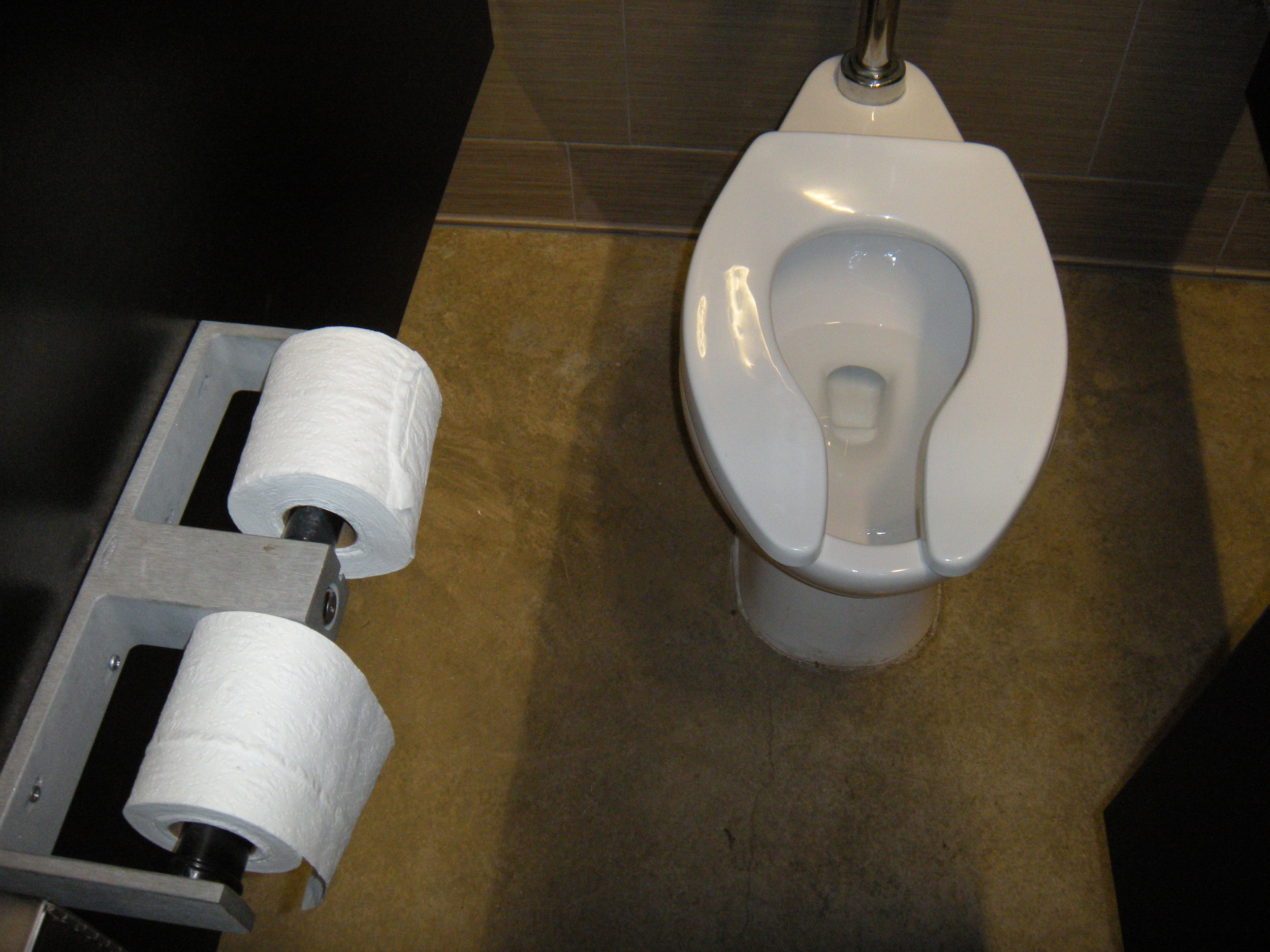 Seriously, the cleanest public toilet ever.