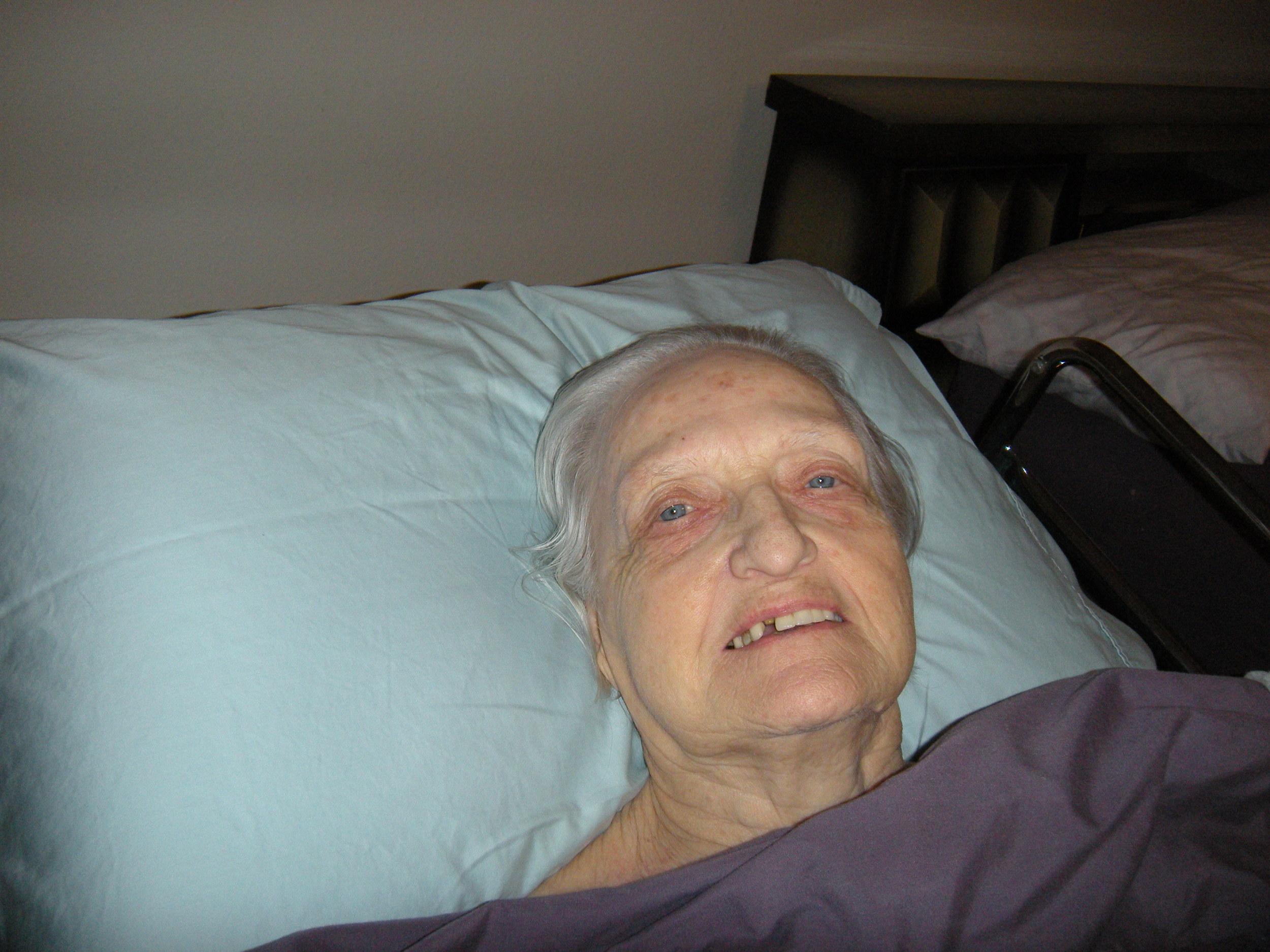 Bea Haenisch Peery. It's sad that mothers eventually change and die.