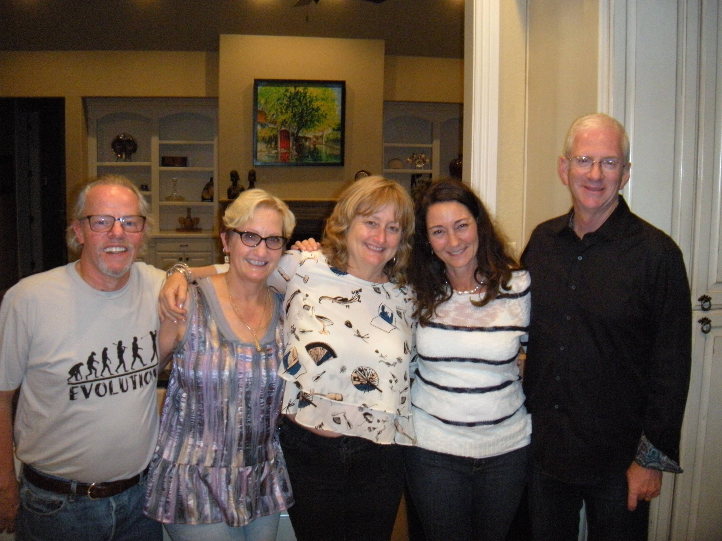 David, me, Tere, Diana, and Charlie.