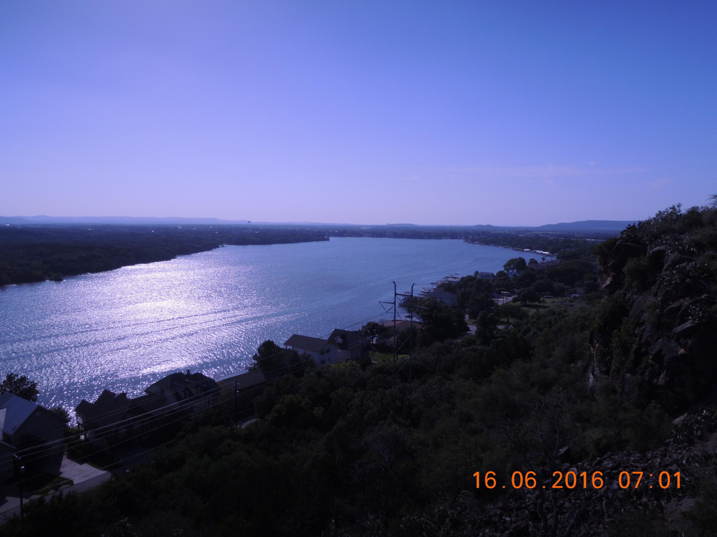 A nice view of Lake LBJ..