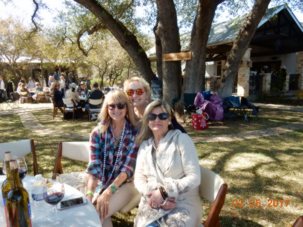 Me, with two people who liked  Old Buildings in North Texas.  I have two fans! Yay!