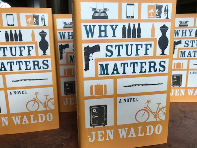I got a nice email from a reader in New Zealand today. She picked up  Old Buildings  at the library and loved it so much that she ordered  Why Stuff Matters  online. It feels weird that my work is in the library in Christchurch, but it's not available here;a situation which will be remedied in April.