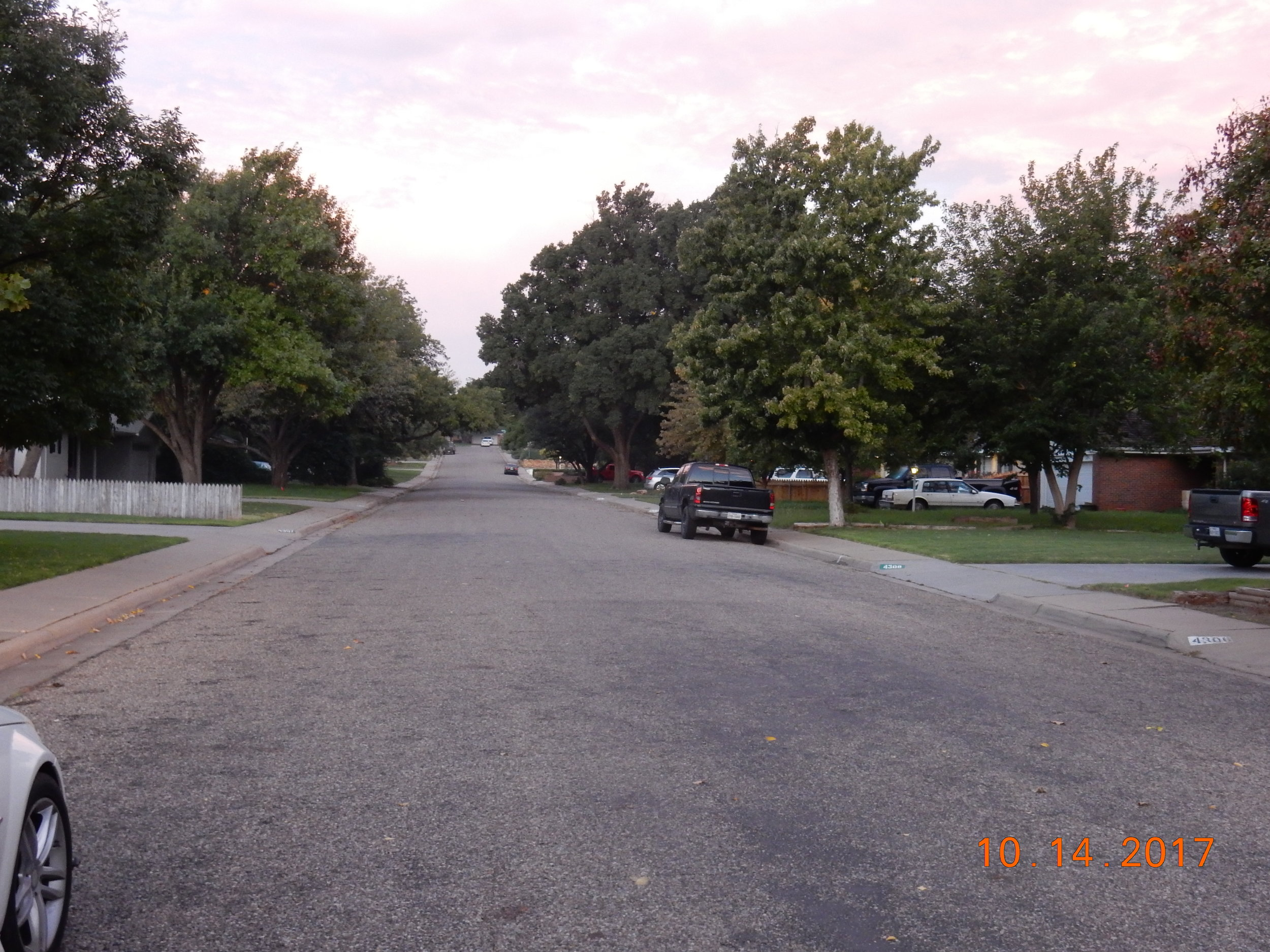 Another good thing that can be said about Amarillo is that it has nice broad streets.