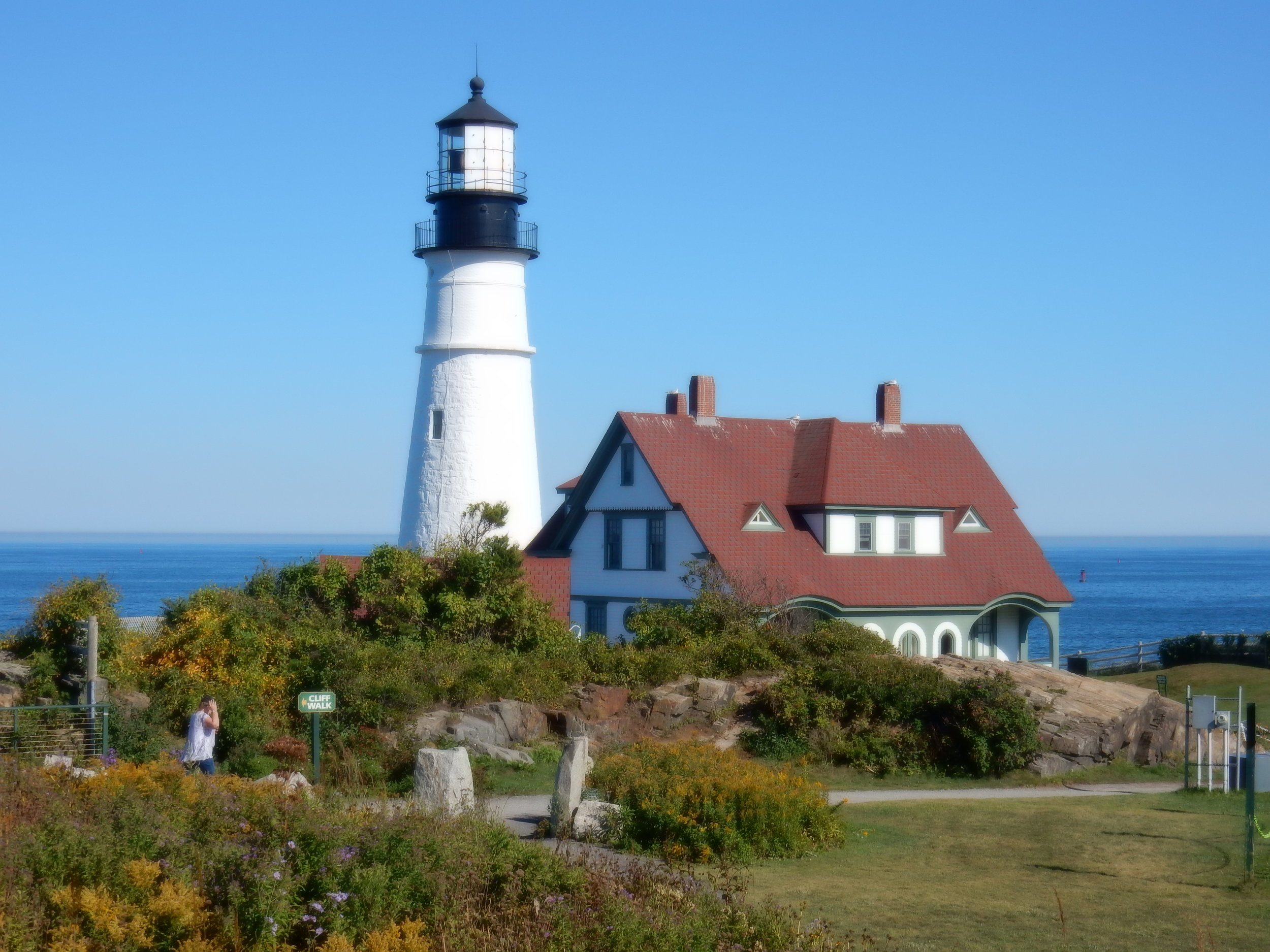 The most photographed lighthouse on the east coast, just outside Portland, Maine.