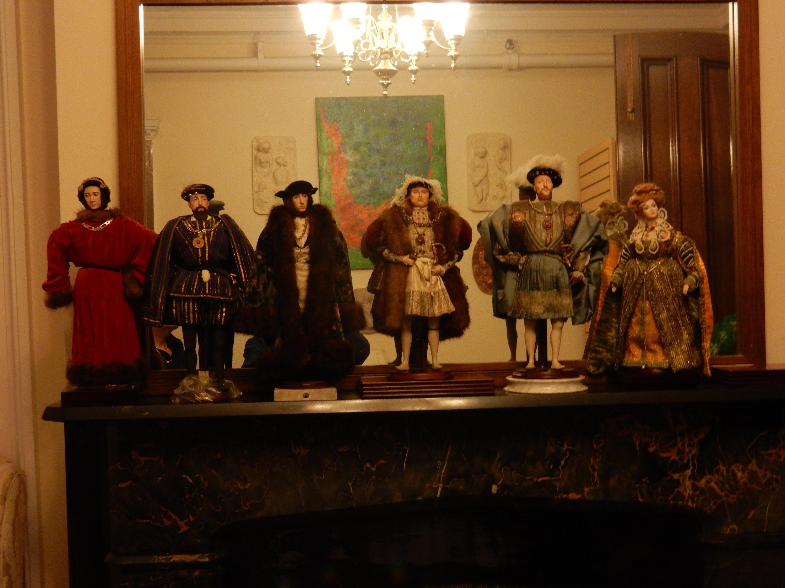Historical dolls.