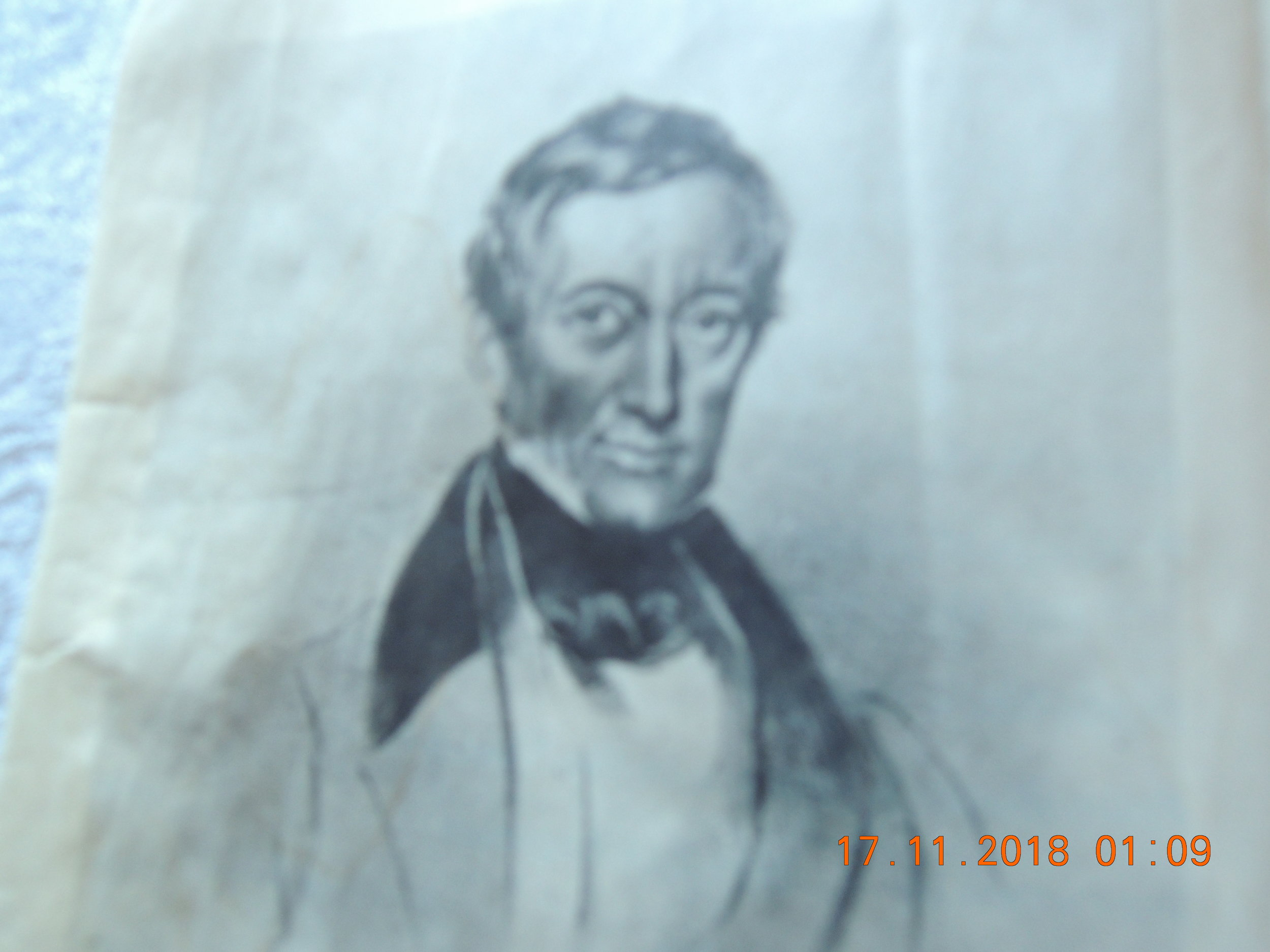 Peter Mark Roget, 1779-1869