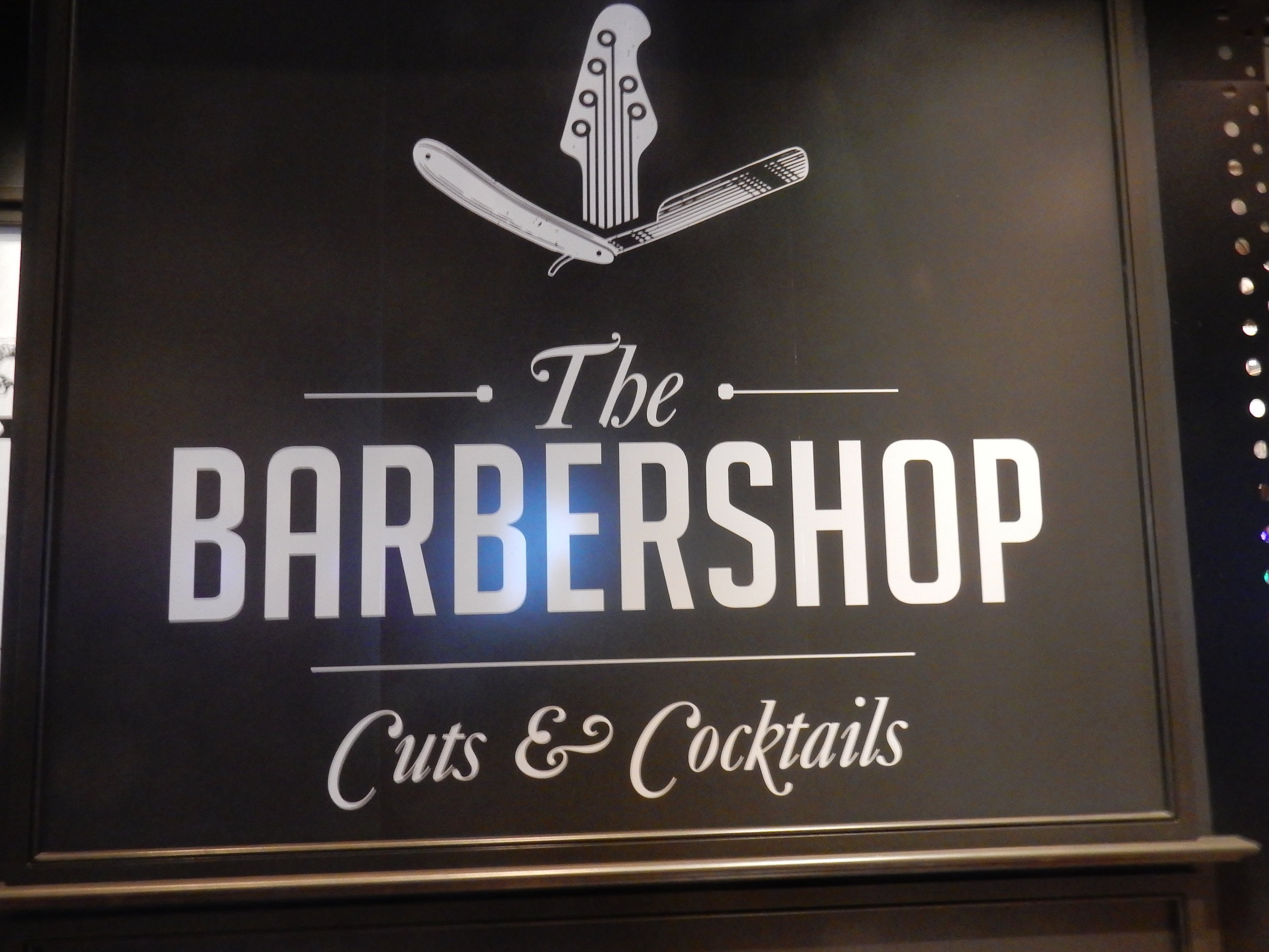 So desperate are Las Vegas entrepreneurs for novel concepts that sometimes they step across the line between good ideas and bad ones. A restaurant where haircuts are taking place?