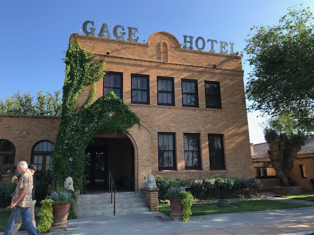 In Marathon, the Gage Hotel is worth a visit.