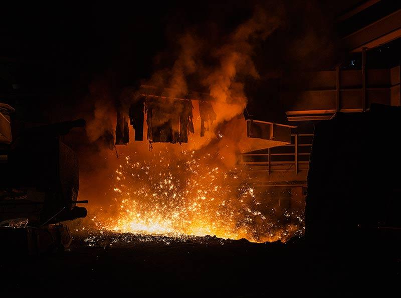 Glutofen - Arcelor Mittal, Eisenhüttenstadt