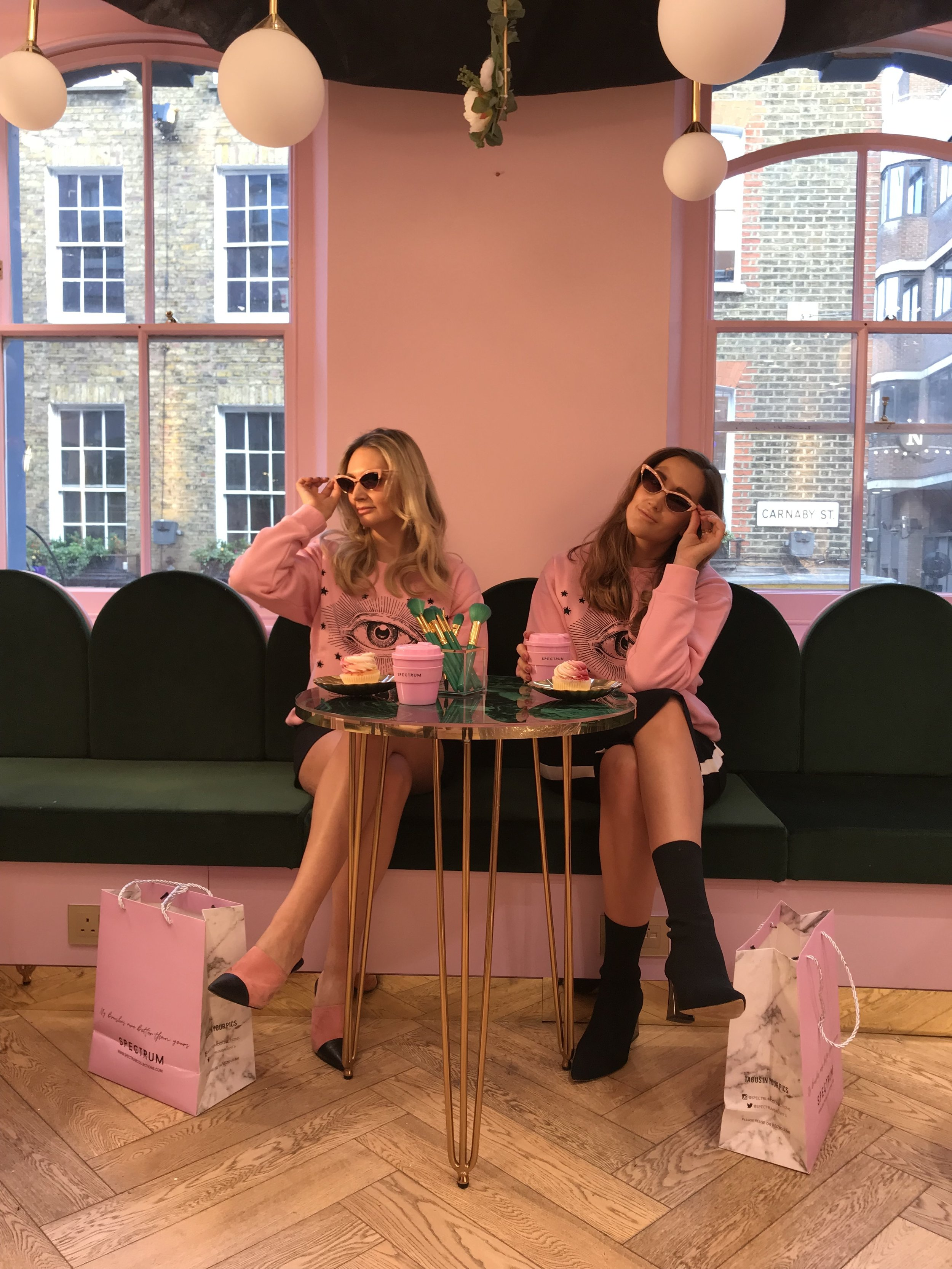Sophie and Hannah Pycroft from  Spectrum Collections.