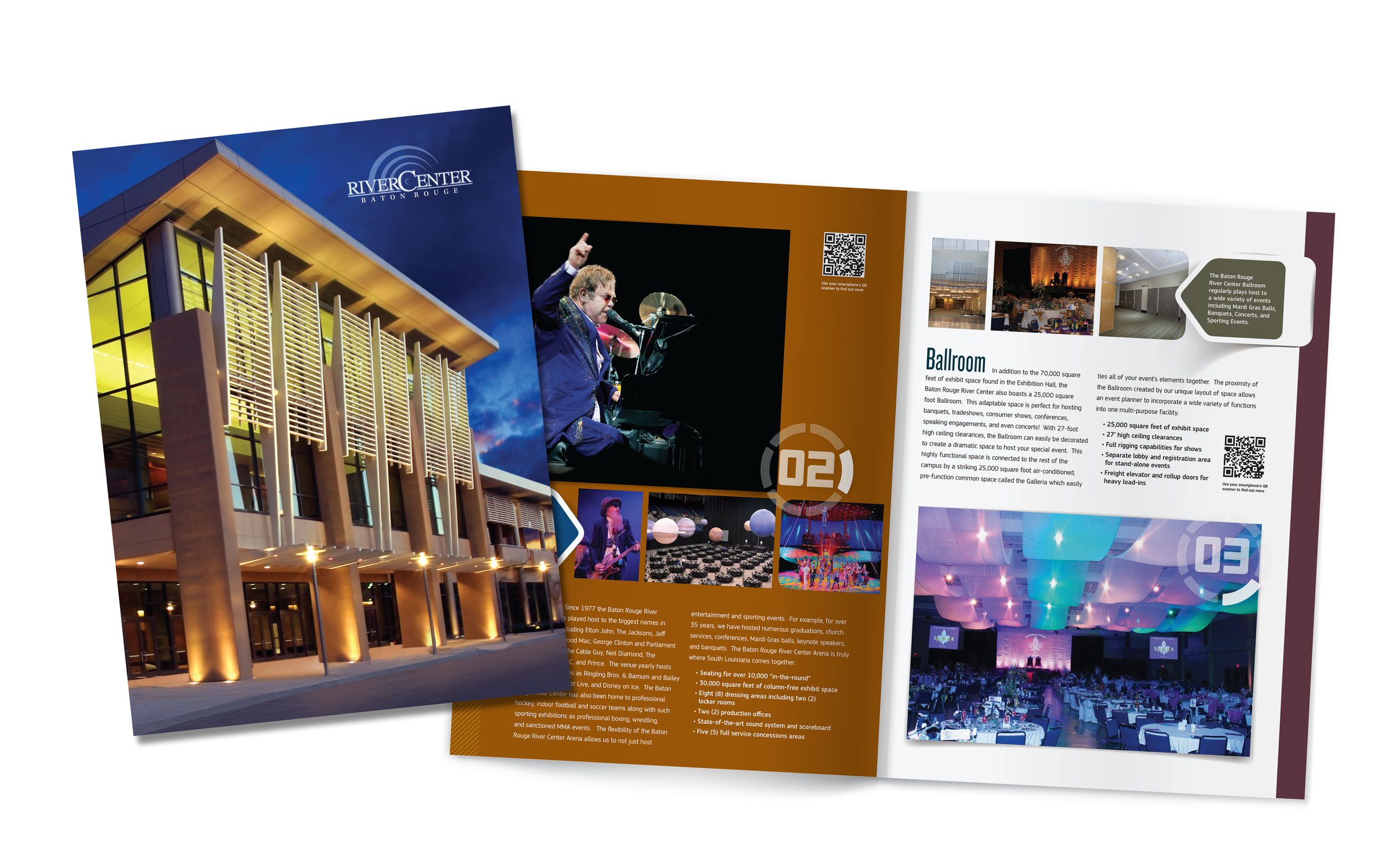 Baton Rouge River CenterOverview Brochure created for Diane Allen and Associates