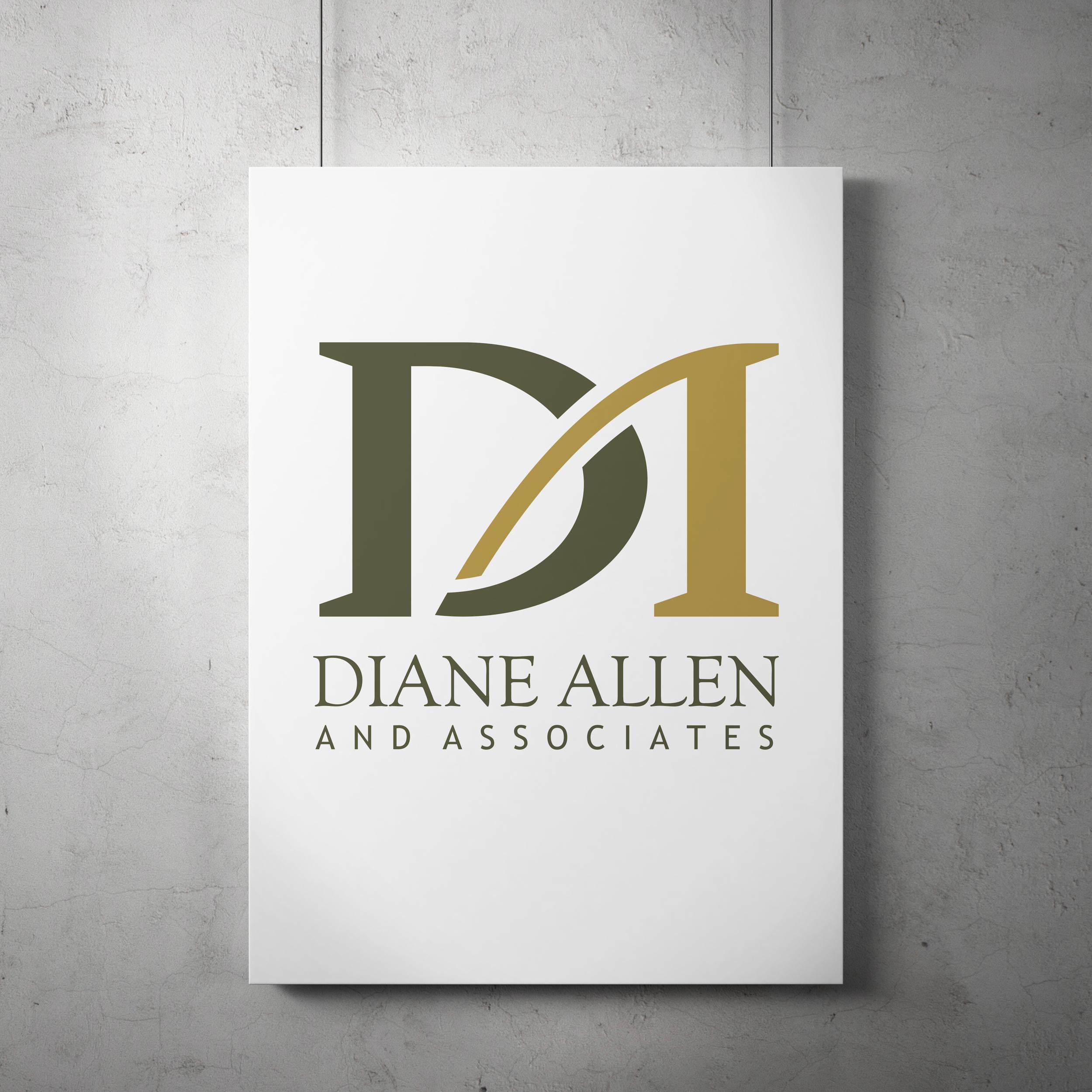Logo design for Diane Allen and Associates