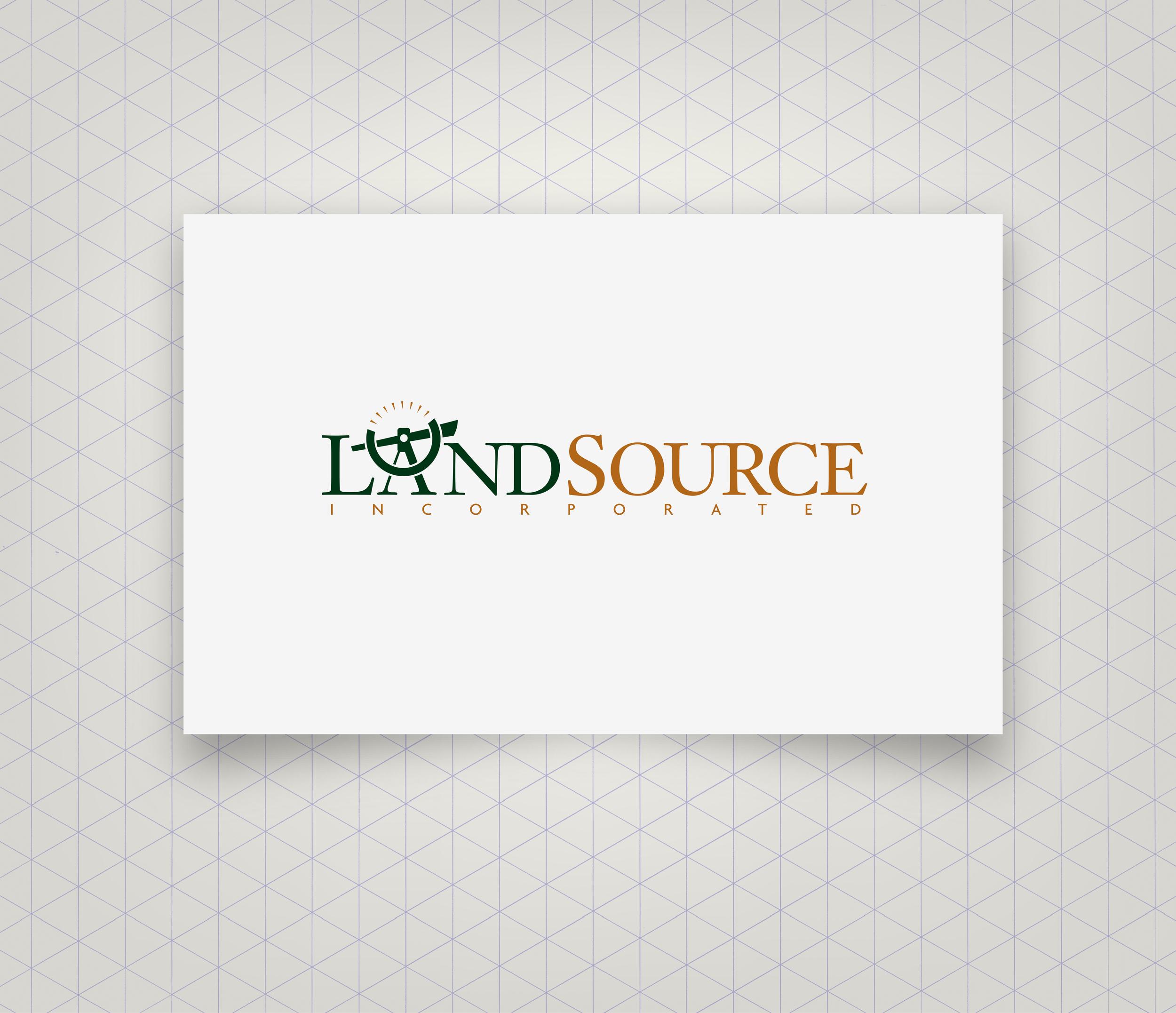 Logo Design for Landsource Incorporated