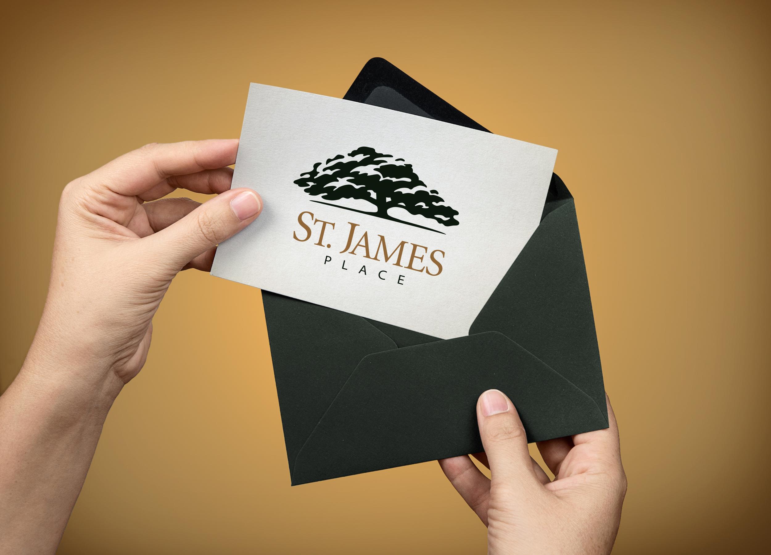 Logo Design for St. James Place
