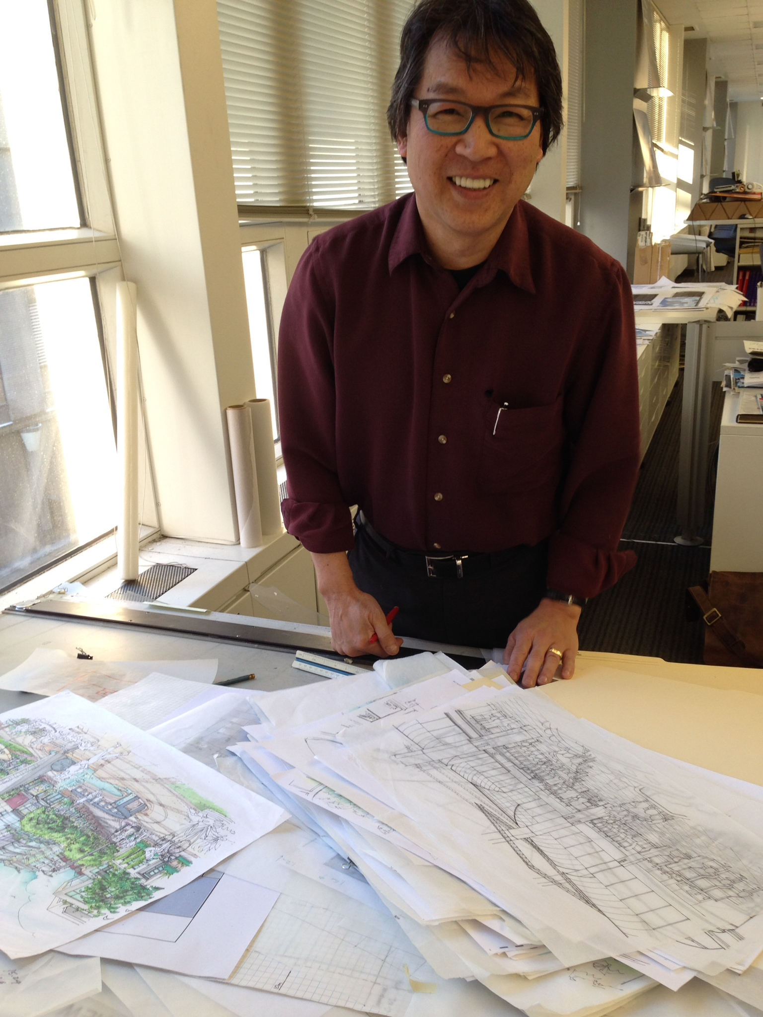 The man himself.  Rick Chow  Associate Director of Design, BKDI Architects