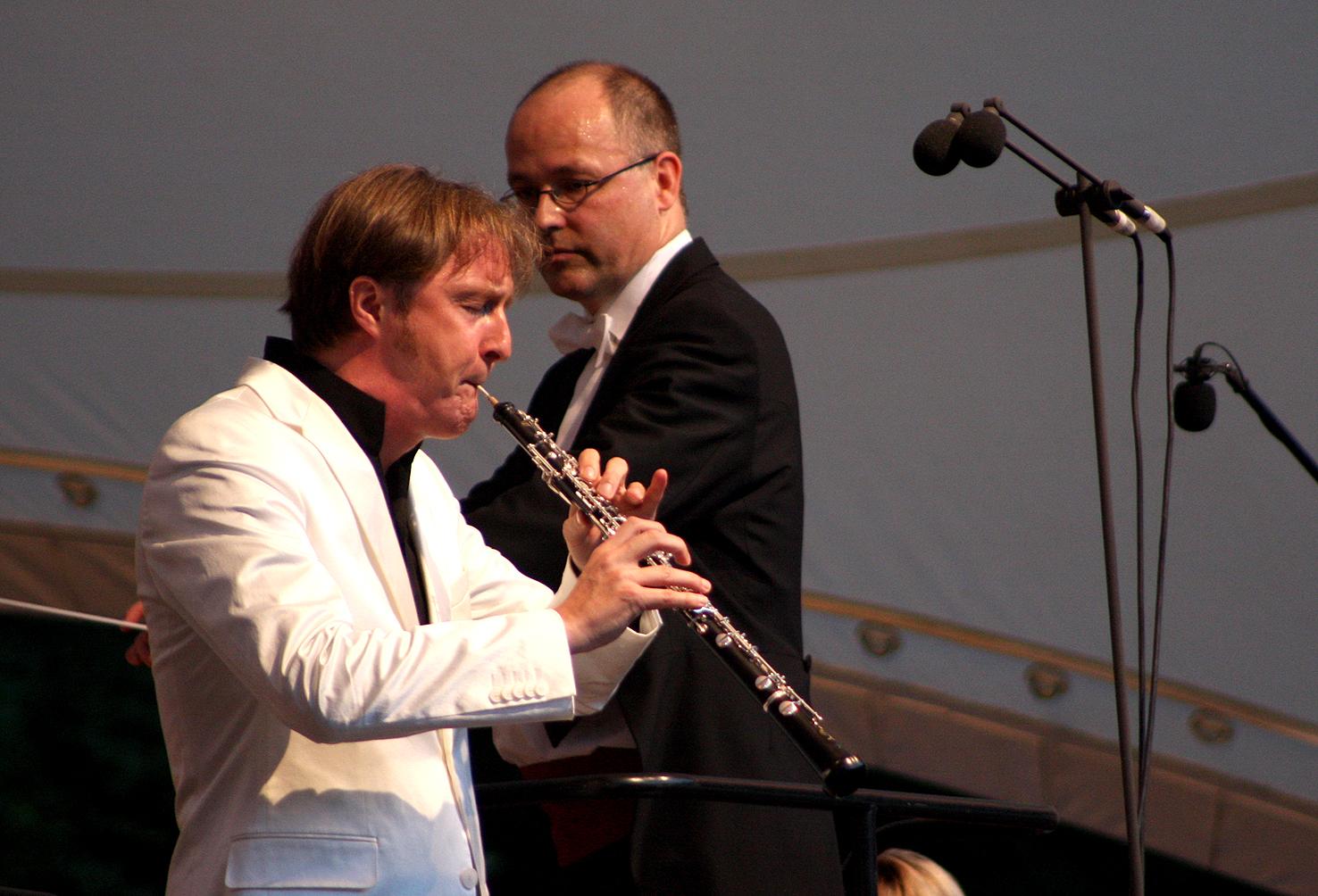 Strauss Oboenkonzert mit Albrecht Mayer  (Foto: Thomas Langer)